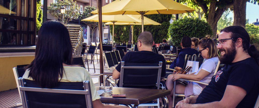 Inicio Café Terraza Kiosco